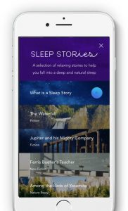 Calm's sleep stories